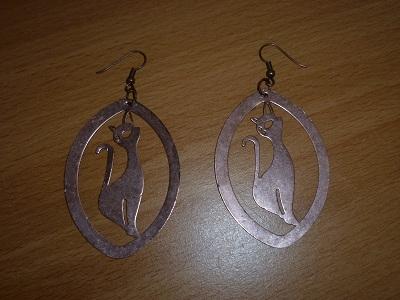 Boucles d 39 oreilles metal - Boite a bijoux boucle d oreille ...